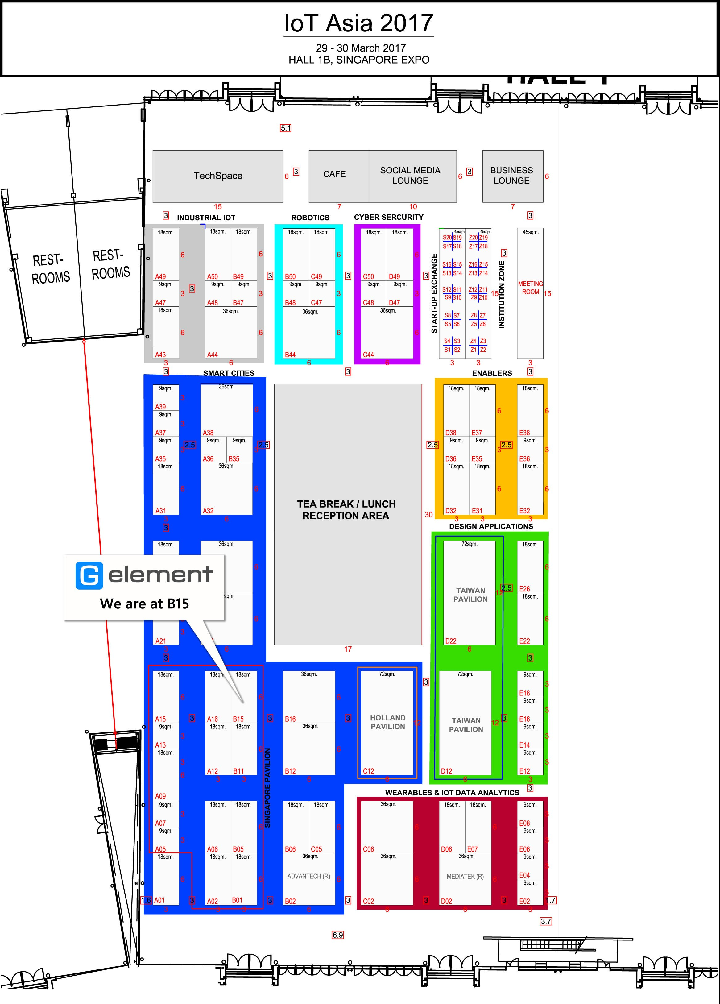 100 Sands Expo And Convention Center Floor Plan 100